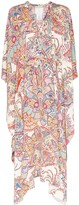 Etro paisley kaftan maxi dress