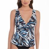 Trimshaper Leaf Tankini Swimsuit Top