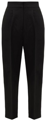 Petar Petrov Hyatt Side-stripe Crepe Trousers - Black