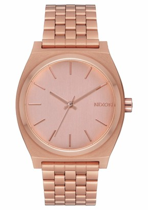 Nixon Time Teller All Rose Gold Womens Watch (37mm. All Rose Gold Face & Rose Gold Metal Band)