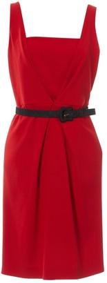 Fendi Red Wool Dresses
