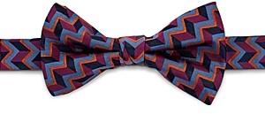 Ted Baker Alibow Geo Print Silk Bow Tie