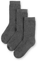 Marks and Spencer 3 Pairs of FreshfeetTM Ultimate Comfort Socks with Modal (5-14 Years)
