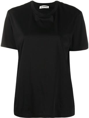 Jil Sander round neck cotton T-shirt