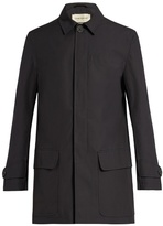 Oliver Spencer Multi-pocket Cotton-gabardine Coat