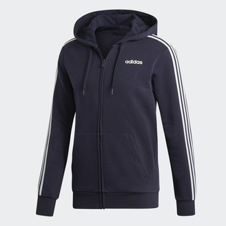 adidas Essentials 3-Stripes Fleece Hoodie