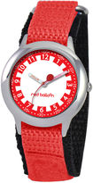 JCPenney RED BALLOON Red Balloon Kids Time Teacher Red Nylon Strap Watch