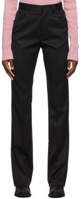 MM6 MAISON MARGIELA Black Five Pocket Trousers