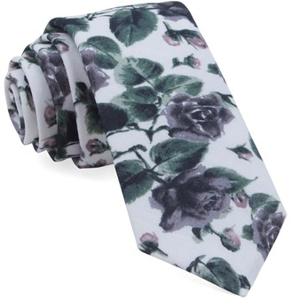 MUMU Weddings - Floral Falls Purple Tie