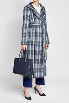 Agnona Belted Coat with Alpaca and Wool
