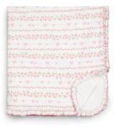 Kissy Kissy Baby's Rosebud Ribbons Print Blanket