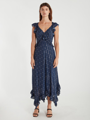 Icons Objects Of Devotion The Day Ruffle Midi Dress