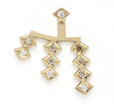 Azlee Triple Burst Diamond Earring