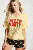 Forever 21 Pizza Party PJ Set