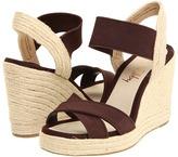 Sam & Libby - Chammy (Dark Brown/Natural Fabric) - Footwear