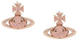 Vivienne Westwood crystal-embellished Orb earrings