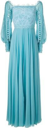 Martha Medeiros Marilla shoulder dress