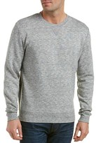 Michael Stars Zippered Crewneck Sweater.