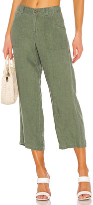 Sanctuary Traveler Wide Leg Crop Utility Pant