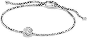 David Yurman Petite Châtelaine Bracelet with Diamonds