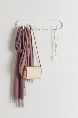 Urban Outfitters Shelby Wall Multi-Hook - White ALL at