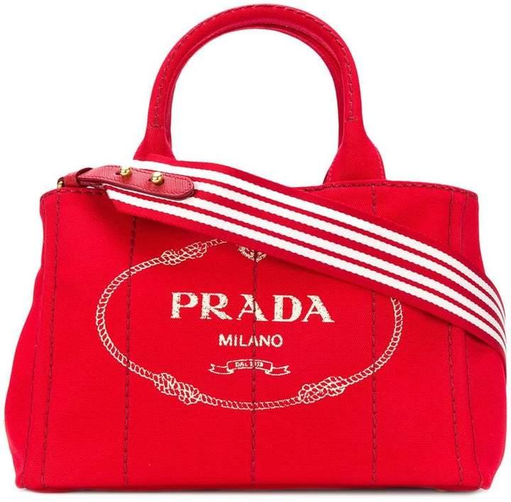 898c95ae9bf8 Prada Red Handbags - ShopStyle