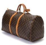 Louis Vuitton Pre-Owned: brown monogram canvas 'Keepall 60' bag