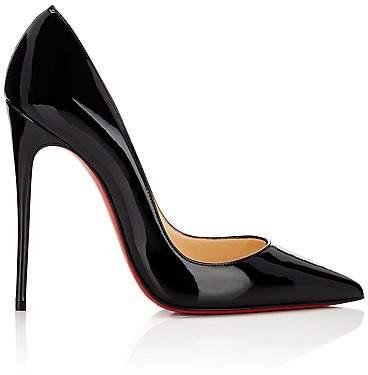 Christian Louboutin Women's So Kate Patent Leather Pumps - Bk01 Black