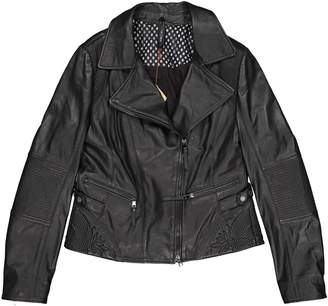 Marc Cain Black Leather Jackets