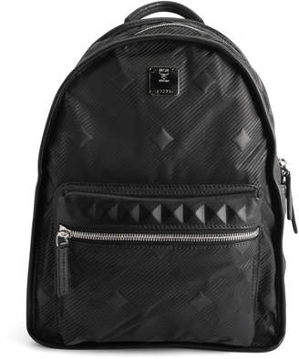 MCM Dieter Backpack Lion Camo Small Black