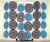 Shree Jinvaram Exclusive Indian Ombre Tapestry Mandala Window Large Wall Hanging, Hippie Window Curtain Valances Room Divider, Loops Curtain, Voile Curtains, Living Room Wall Decor Throw, Window Treatment Panel