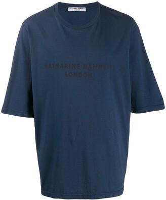Katharine Hamnett loose-fit George T-shirt