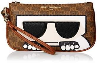 Karl Lagerfeld Paris Peeking SM Wristlet