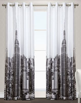 Home Outfitters Manhattan Two-Pack Window Curtains