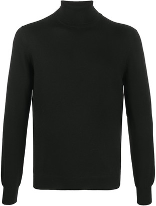 Fay Roll-Neck Wool Jumper