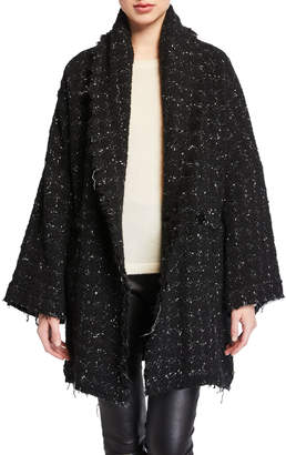 IRO Pelops Single-Breasted Tweed Coat