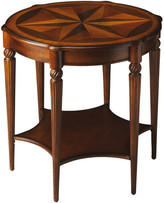 Butler Specialty Company Bainbridge End or Side Table in Olive Ash Burl