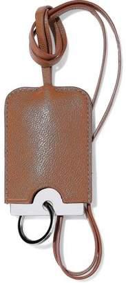 Acne Studios Cinn G Textured-leather Luggage Tag
