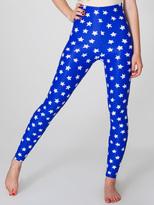 American Apparel Star Print Nylon Leggings