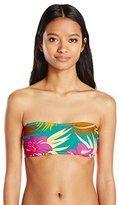 Volcom Women's Hot Tropic Sweetheart Bandeau Bikini Top