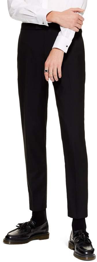Topman Casely Hayford Skinny Fit Tuxedo Pants