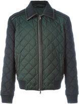 Brioni quilted jacket - men - Wool/Feather - M