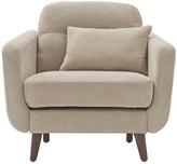 Chloé Armchair Elle Decor Upholstery: Beige