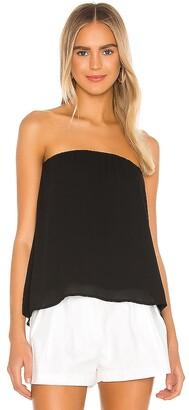 Krisa Split Back Strapless Top