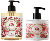 Rejuvenating Rose Liquid Soap and Hand & Body Lotion Duo