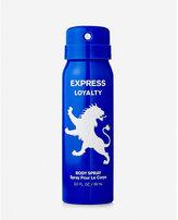 Express Loyalty 2 Oz Body Spray