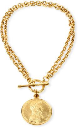 Ben-Amun Moroccan Coin Double-Chain Necklace