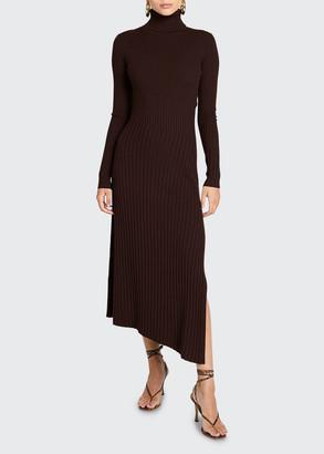 A.L.C. Emmy Asymmetric Turtleneck Dress