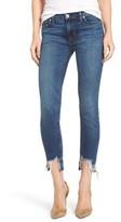 Hudson Women's Colette Step Hem Skinny Jeans