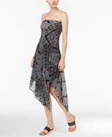 INC International Concepts Convertible Printed Skirt, Only at Macy's